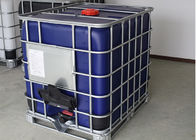Black Plastic Tote Ibc Tank Container 275 Gallon With Steel Pallet UN Approved