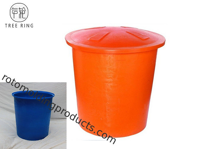 Circular Open Top Round Plastic Water Trough With Lids 850 * 670 * 850mm M300L