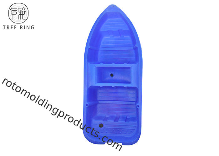 Small HDPE Bass Fishing Rotomolded Polyethylene Boats For Lake 2520 * 1040 * 320 Mm