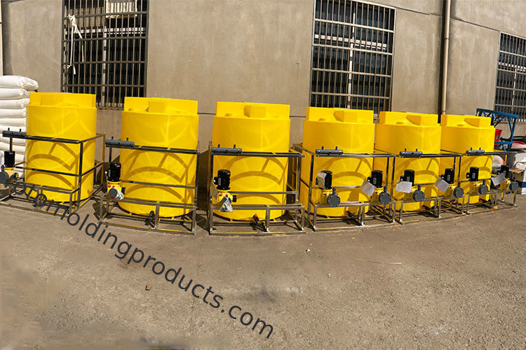 220 Gallon Commercial Chemical Dosing Tank For Closed Loop Chilled Water Circulation Piping System